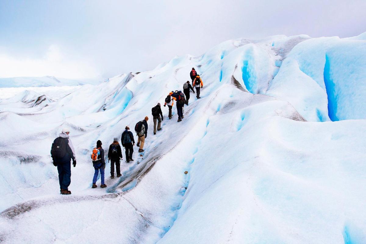 Manual para cruzar geleiras naPatagônia
